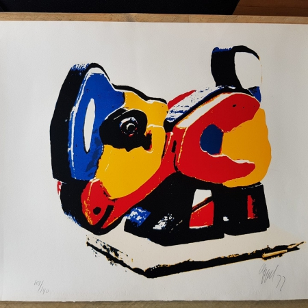 Karel Appel Glanzende Kip 1977